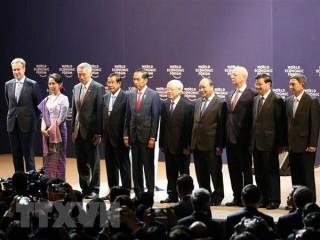 Chính thức khai mạc Diễn đàn Kinh tế Thế giới về ASEAN 2018