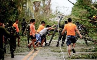 Philippines: Bão Mangkhut làm thiệt hại hơn 250.000 tấn lúa