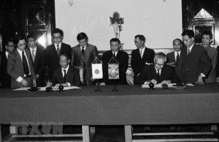 Nhìn lại 45 năm thiết lập quan hệ Việt-Nhật qua các bức ảnh đặc biệt