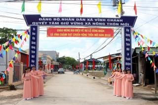 Chào nông thôn mới Vĩnh Chánh