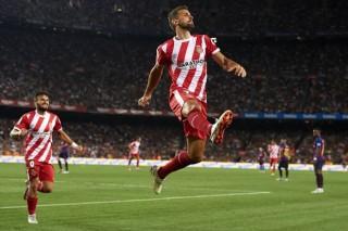 Girona gây sốc trước Barcelona ngay tại thánh địa Nou Camp