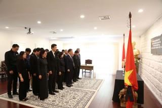 Lễ viếng Chủ tịch nước Trần Đại Quang tại nhiều nước trên thế giới