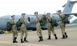 Lực lượng gìn giữ hòa bình Việt Nam 'rắn rỏi' lên đường đi làm nhiệm vụ