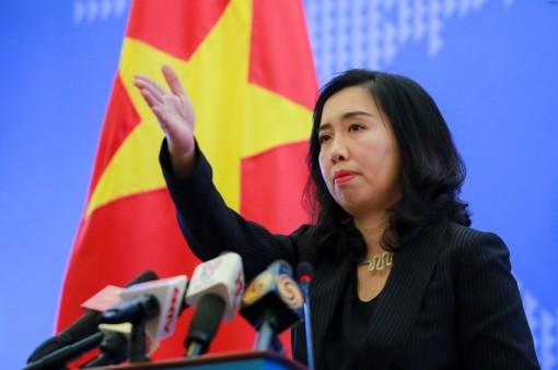 Việt Nam khẳng định chủ quyền đối với các quần đảo Hoàng Sa và Trường Sa