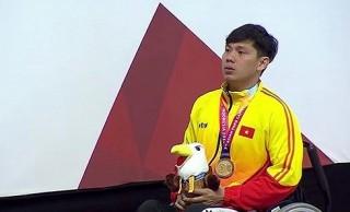 Asian Para Games 2018: Võ Thanh Tùng lại phá kỷ lục châu Á