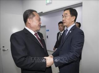 Hàn - Triều đối thoại cấp cao triển khai thỏa thuận tại hội nghị thượng đỉnh