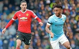 """Đại chiến """"xanh – đỏ"""" thành Manchester: Điểm """"nóng"""" Smalling–Sterling"""