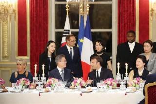 Tổng thống Hàn Quốc tìm kiếm sự ủng hộ việc thiết lập hoà bình trên bán đảo Triều Tiên
