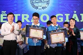 Thí sinh Lê Hồng Đăng vô địch Olympic tiếng Anh toàn quốc