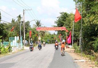 Chuyện nông thôn mới ở huyện điểm Thoại Sơn