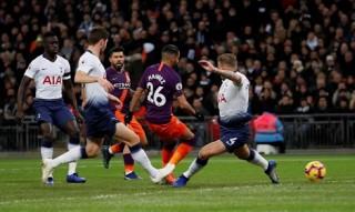 Hạ Tottenham, Man City trở lại ngôi đầu