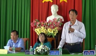 Đại biểu HĐND 3 cấp tiếp xúc cử tri xã Bình Long