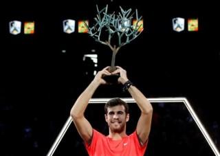 Đánh bại Djokovic, Khachanov vô địch Paris Masters