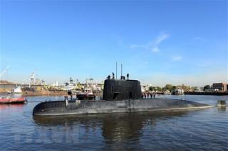 Argentina dừng chiến dịch tìm kiếm tàu ngầm ARA San Juan mất tích
