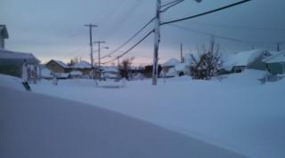 Bão tuyết 'nuốt chửng' thành phố Siberia trong cái lạnh -50 độ C