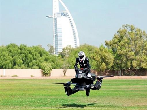 Mô tô bay như trực thăng của cảnh sát Dubai