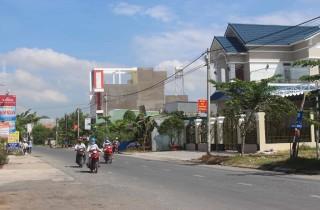 Đổi thay ở trung tâm huyện Tri Tôn