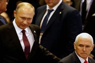 Tổng thống Nga Putin gặp Phó Tổng thống Mỹ bên lề Cấp cao ASEAN