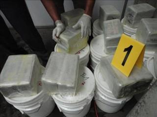 Bắt giữ một thuyền vận chuyển 6 tấn cocain tại El Salvador