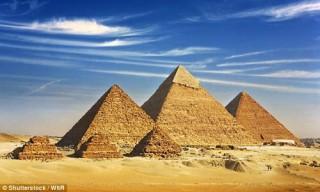 Kim tự tháp Ai Cập do người ngoài hành tinh xây dựng?