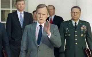 Di sản của Tổng thống Bush cha trong cuộc chiến tranh vùng Vịnh 1991