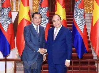 Phát triển quan hệ hữu nghị, hợp tác tốt đẹp Việt Nam-Campuchia