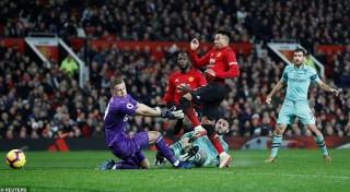 Man Utd và Arsenal bất phân thắng bại trong ngày đại chiến