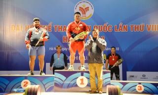 Nguyễn Văn Trọng phá kỷ lục quốc gia môn cử tạ