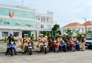 Công an huyện Châu Thành ra quân cao điểm tấn công, trấn áp tội phạm