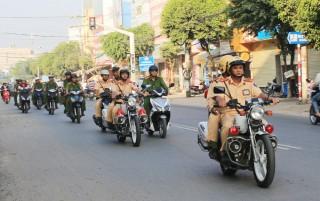 Ra quân cao điểm đảm bảo an ninh trật tự dịp Tết 2019
