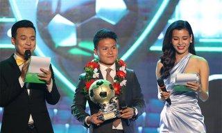 Quang Hải và Tuyết Dung đoạt Quả bóng Vàng Việt Nam 2018