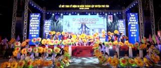 Kỷ niệm 50 năm thành lập huyện Phú Tân