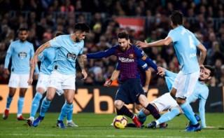 """Lionel Messi """"nổ súng"""", Barca thắng dễ Celta Vigo"""