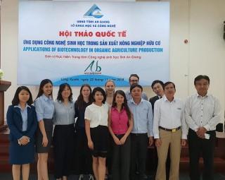 Trung tâm Công nghệ sinh học An Giang tăng cường hợp tác quốc tế