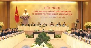 Chính phủ kiên trì nguyên tắc 3 trụ cột kinh tế-xã hội-môi trường