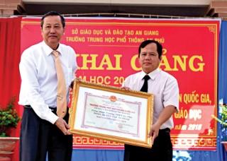 Trường THPT An Phú học tập và làm theo Bác