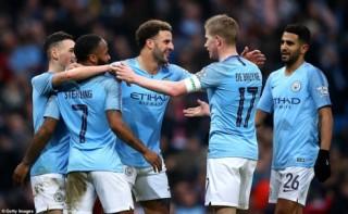 """Vòng 3 FA Cup: Man City đại thắng """"7 sao"""", Leicester bất ngờ bị loại"""
