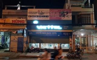 Cướp ném mìn, dùng súng cướp 40 triệu đồng của cửa hàng Viettel