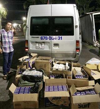 Hiệu quả hoạt động của Trạm Cảnh sát giao thông Châu Phú