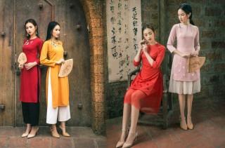 6 mẫu áo dài cách tân diện Tết cho phái đẹp