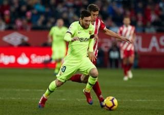 "Lionel Messi ""nổ súng"", Barca thắng dễ Girona"