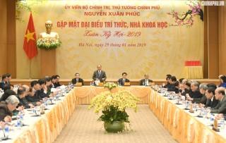 Thủ tướng mong đội ngũ trí thức góp sức làm chủ 5 không gian