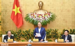 Thủ tướng chủ trì phiên họp Chính phủ thường kỳ đầu tiên của năm 2019