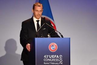 Ông Ceferin tái đắc cử chức Chủ tịch UEFA