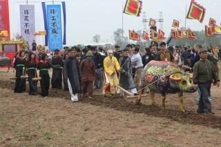 Khai hội Tịch điền – lễ trọng của nhà nông, nghề nông