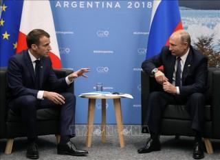 Lãnh đạo Pháp và Nga thảo luận về vấn đề Syria