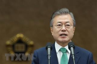 Tỷ lệ ủng hộ đảng Dân chủ Hàn Quốc cầm quyền tăng trở lại