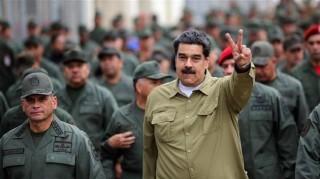 """Quân đội Venezuela thề trung thành """"không giới hạn"""" với Tổng thống Maduro"""