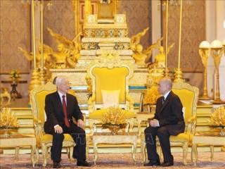 Nhân dân Việt Nam là người bạn vĩ đại và tin cậy của nhân dân Campuchia