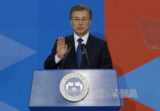 Tổng thống Hàn Quốc tuyên bố sẽ nỗ lực chuẩn bị cho sự hợp tác liên Triều